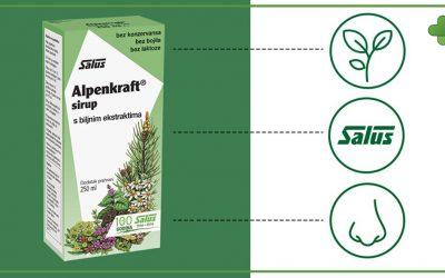 Alpenkraft – biljni sirup za zdravlje dišnih puteva
