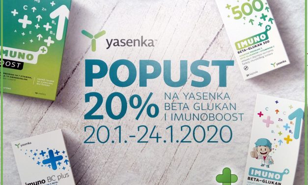 Hitna pomoć vašem imunitetu dolazi iz Yasenke