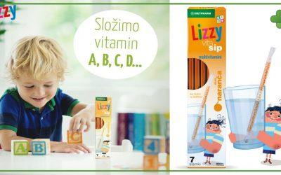 Lizzy Vita Sip – Slamke za djecu koje vodu pretvaraju u fini napitak