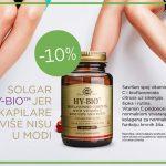 Venska cirkulacija i Solgar Hy-Bio za zaštitu krvnih žila